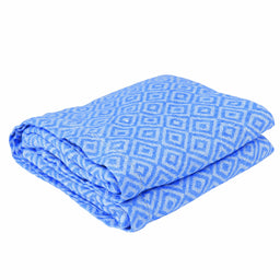 Angra Linen Beach Towel - Blue