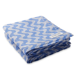 Copacabana Linen Beach Towel - Blue