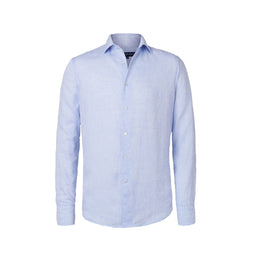 Linen Shirt - Regular Fit - Baby Blue