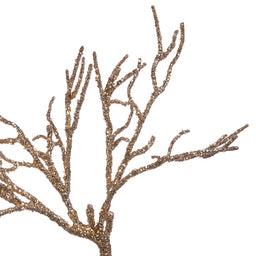Coral Twig - Glitter Gold