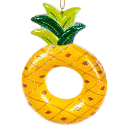 Pool Float Pineapple Ornament