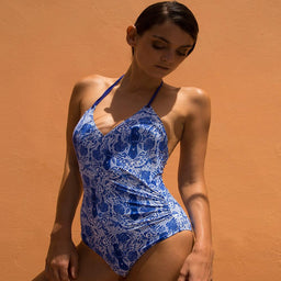 Greta  One Piece - Ori - Blue / White