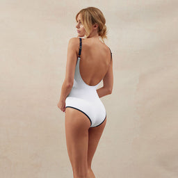 BB Reversible - V One Piece - White/Navy