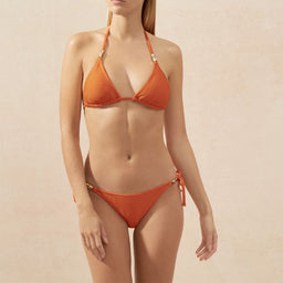 Casablanca - Padded Triangle Top - Orange