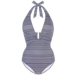 Cote Savage - U-Bar One Piece - Navy / White