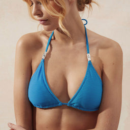 Muscat - Padded Triangle Top - Blue