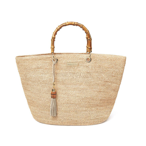 Savannah Bay - Medium Bag - Natural
