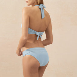 Half Moon Montego Bay - Fold Over Bottom - Baby Blue