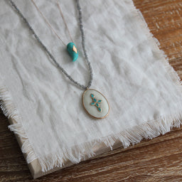 Belleville Necklace - Turquoise