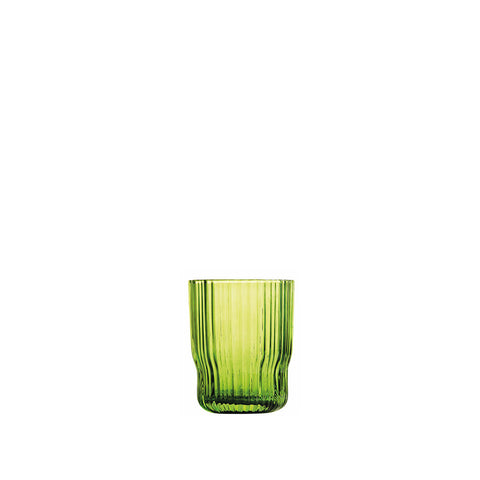 Riffle - Glass - Apple Green