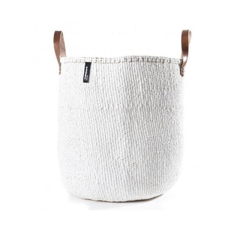 Kiondo Basket with Handles - White - Large
