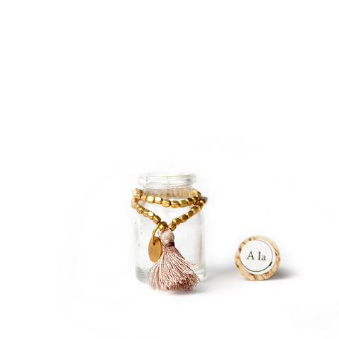 Kids Amoda Bracelet - Dark Cream