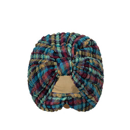 Beachwear - Turban  - Blue Gingham