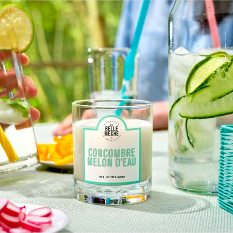 Scented Candle - Cucumber Watermelon