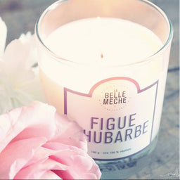 Scented Candle - Fig Rhubarb