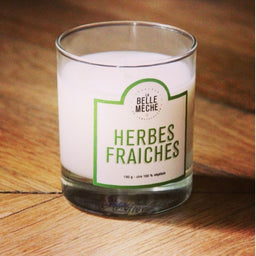 Scented Candle - Fresh Nature