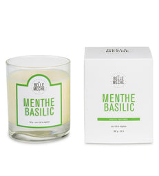 Scented Candle - Mint Basil