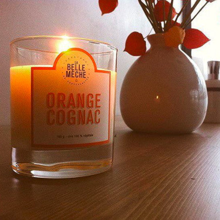 Scented Candle - Orange Cognac