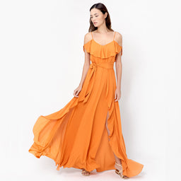 Ayda Dress - Caramel
