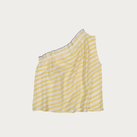 Alfie One Shoulder - Top - Sun