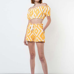 Biruhi Shorts - Yellow