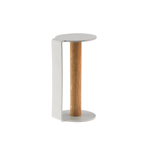 Kitchen Holder - Metallic / Oak