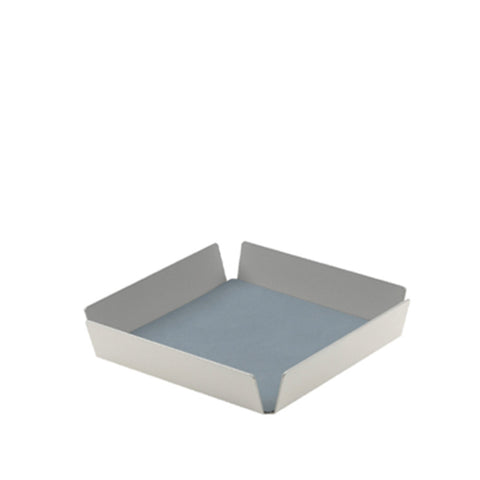 Tray Square Mini - Nupo Light Blue/Nupo Light Grey/Alu Metallic