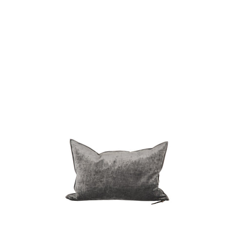 Cushion - Vice Versa / Royal Velvet - Anthracite - 40x60cm