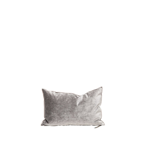 Cushion - Vise Versa / Royal velvet - Ardoise - 40x60cm