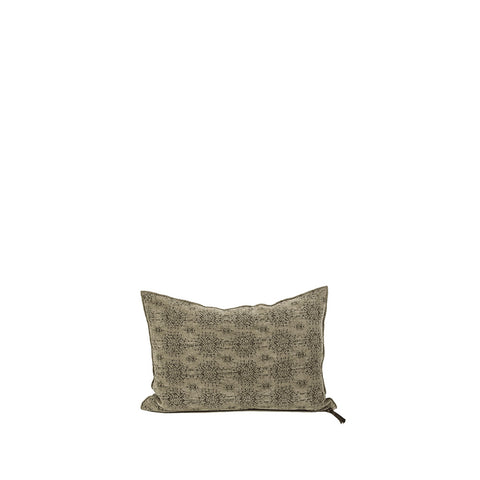 Cushion - Vice Versa / Stone Washed Jacquard - Kilim Kaki - 50x50cm