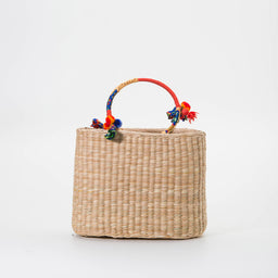 Kiki Large Ribbon Tote Bag - Multi