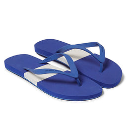 Haston Flip Flop - Navy / White