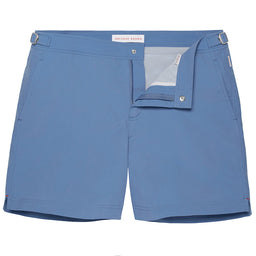 Bulldog Swim Shorts - Mid-Length Tailored - Bluestone