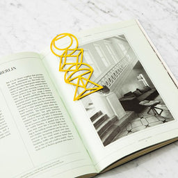 Bookmark - Euclid - Yellow