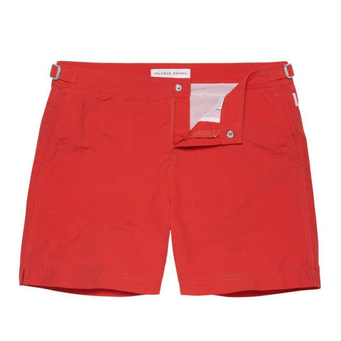Bulldog Swim Shorts - Mid Length - Rescue Red