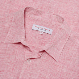 Morton - Linen Tailored Fit Shirt - Paradise