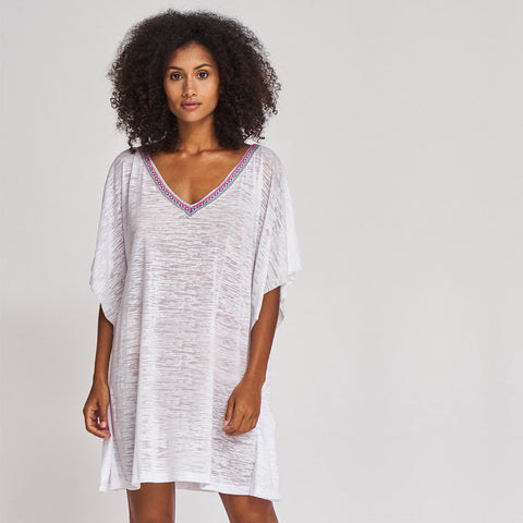 Desert mini dress - White