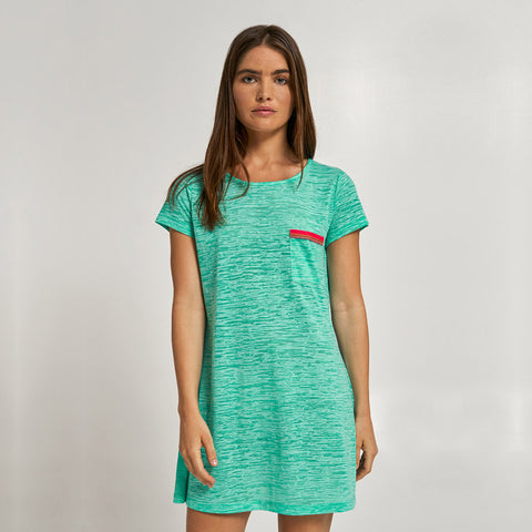 T-Shirt Dress - Mint