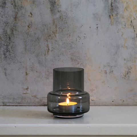 Hurricane Tealight No.25 - Smokey grey