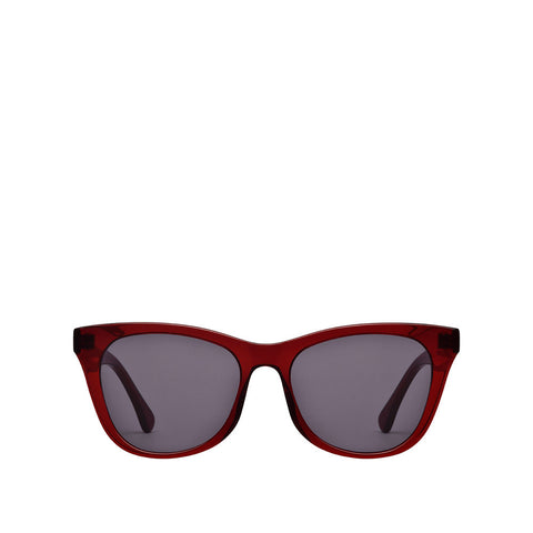 New York Sunglasses - Ruby / Grey