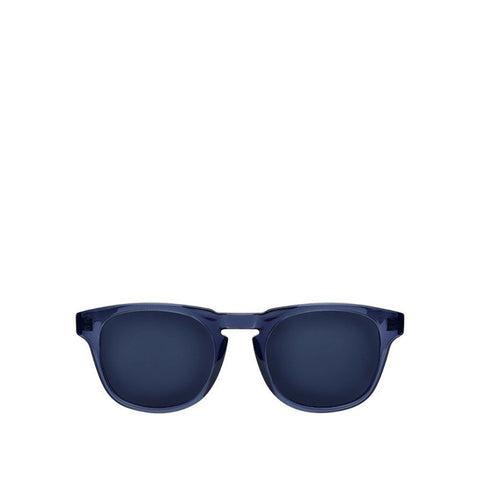 Milano Sunglasses - Navy Crystal - Mirror Navy