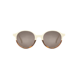 Capri Sunglasses - Cream Tortoise shell - Classic Coffee