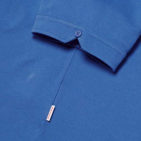 Sebastian - Polo Shirt - Tailored fit - Pique - Heron