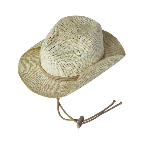 Panama Hat - Crochet Safari - Natural/Beige Cord