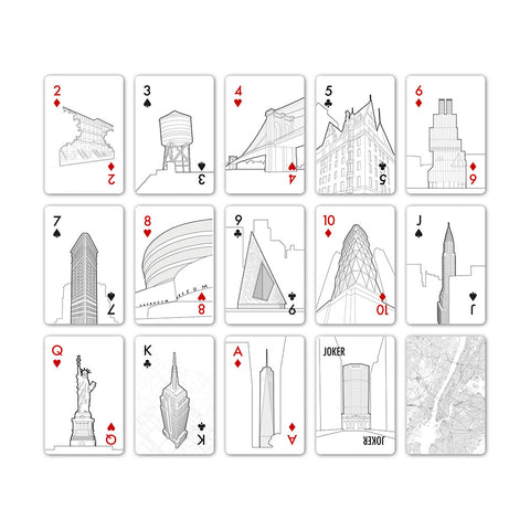 Playing Cards - The New York Edition