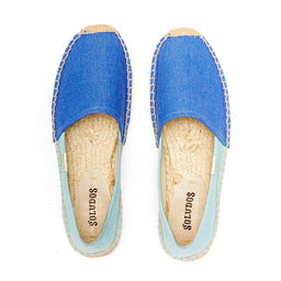 Color Block Original Espadrille - Marina Blue / Canal Blue