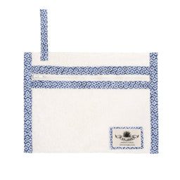 Pochette Holiday - White / Patmos print
