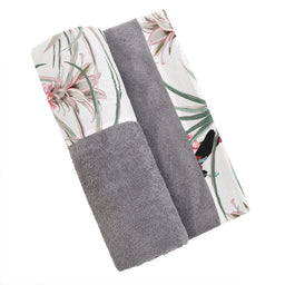 Beach Towel - Grey / PinaColada