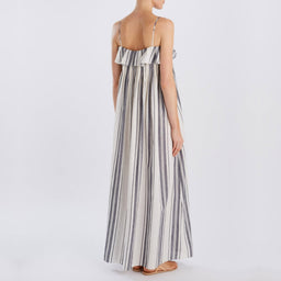 Mirinda Dress - Nefyn Stripe