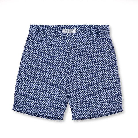 Tailored Swim Shorts - Ball Long - Navy Blue